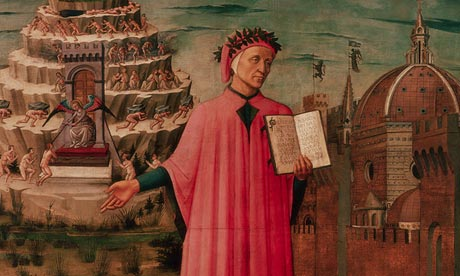 Dante Illuminating Florence with his Poemk, by Domenico di Michelino
